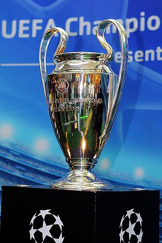 "Champions League Trophy (Courtesy <a href=""http://www.flickr.com/photos/eldan90/2412502512/"" target=""new"">flickr user eldan90</a> via Creative Commons)"