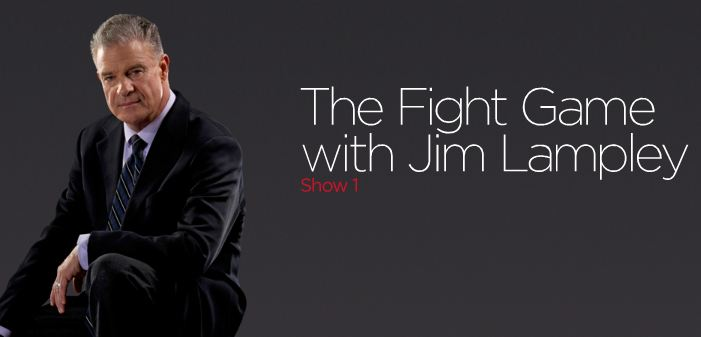 """Jim Lampley's new """"Fight Game"""" studio show started off well, but has a lot of room to get even better."""