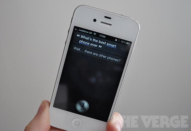 Siri best smartphone response