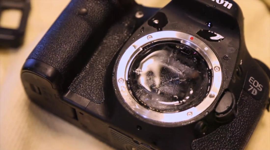 Canon 7D durability test screencap
