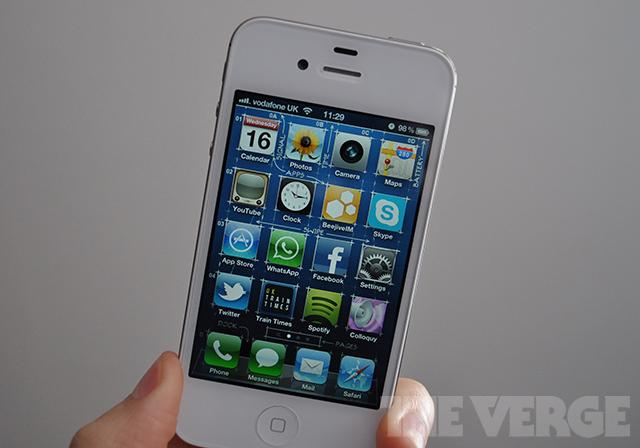 iPhone 4S stock