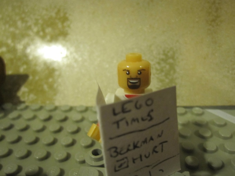The Lego Times: Lego Bryan Burwell Sold Separately.