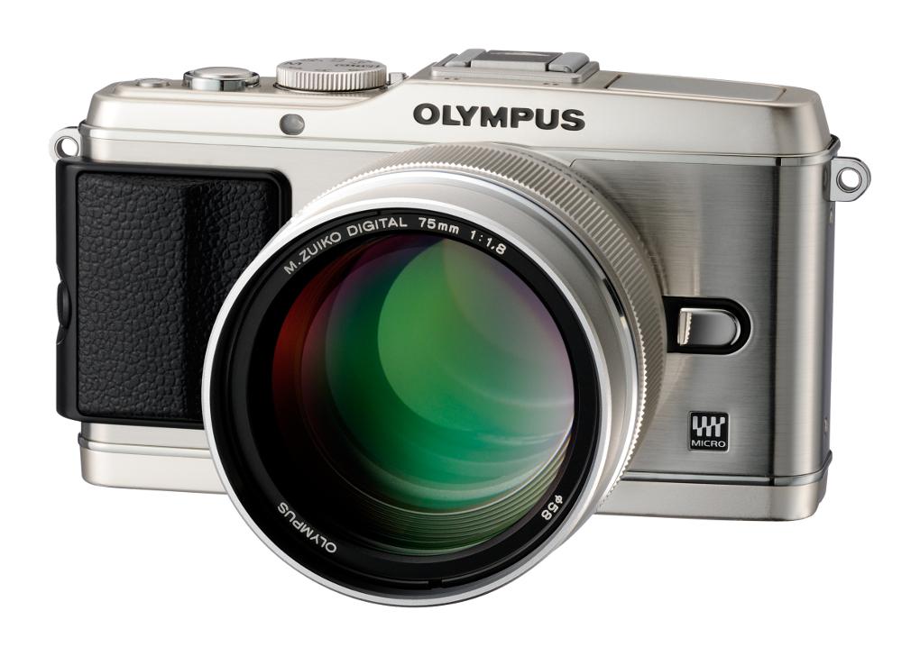 Olympus M.ZUIKO DIGITAL ED 75mm F1.8 lens on camera 1020x728