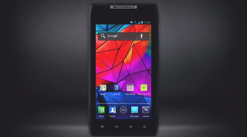 Motorola Android 4.0 ICS skin RAZR