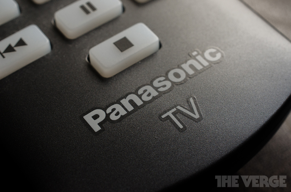 Panasonic TV remote (STOCK)