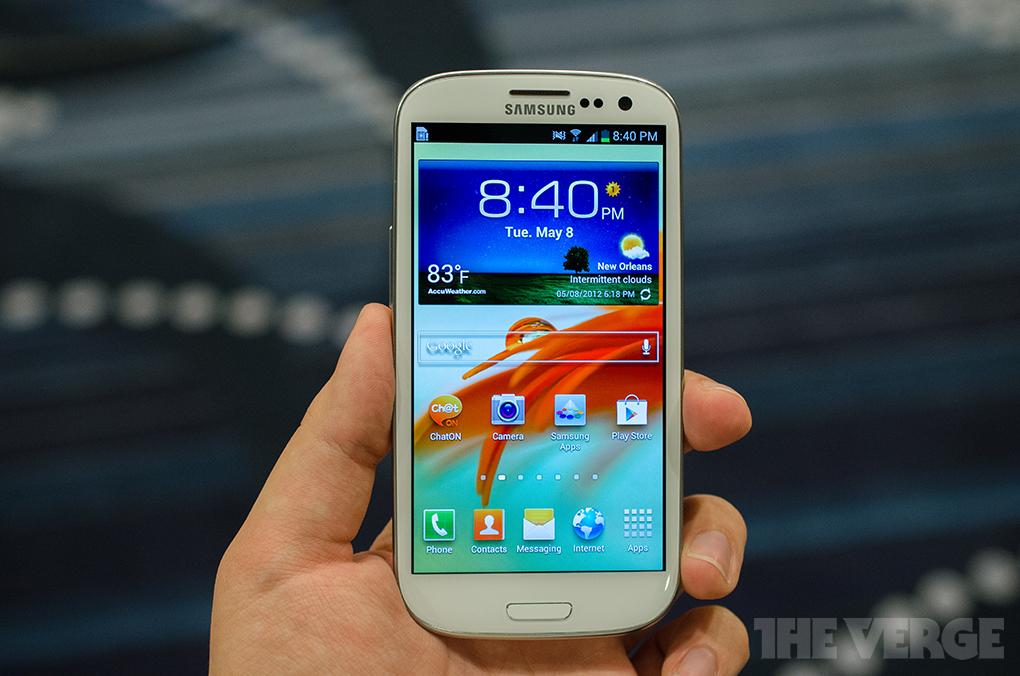 Samsung Galaxy S III white (STOCK)