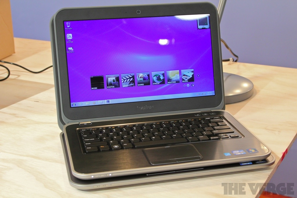 Gallery Photo: Dell Inspiron 13z and 14z hands-on pictures