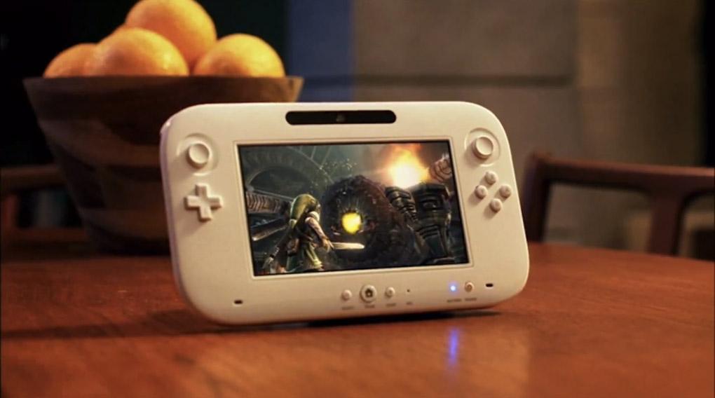 Wii U Gamepad official