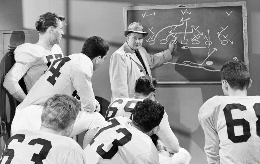 Let's see....Jimmy!  Have you ever seen a tight end?  What the hell's a Kardashian?  Kim Who?  Can he play on the line?  He's a she?!  What the hell are you talking about?  Damnit, Jimmy!