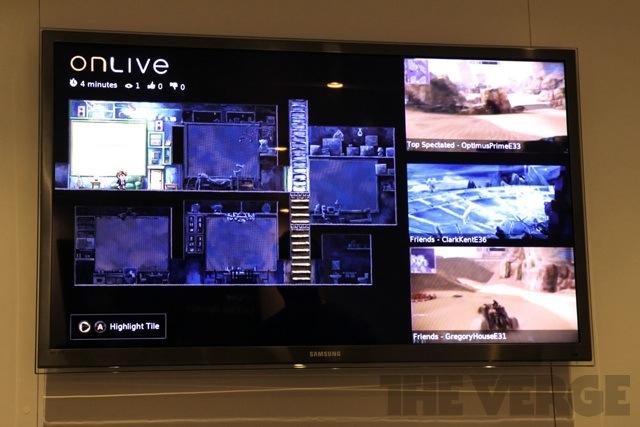 OnLive Multiview HDTV E3 2012