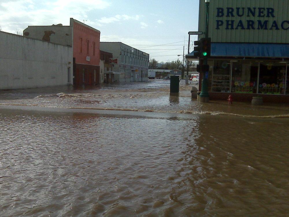 It floods in Monett. Often.