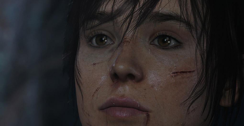 Ellen Page in Beyond Two Souls