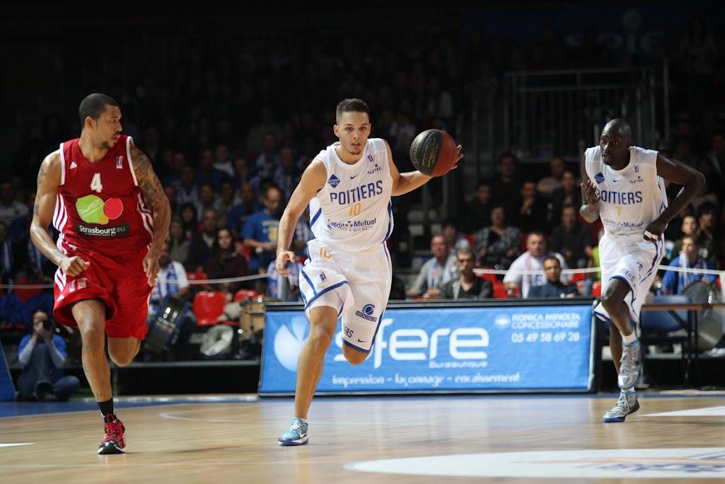 Alexis Reau for Poitiers Basket