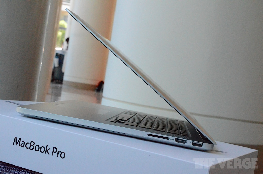 Gallery Photo: New MacBook Pro with Retina Display hands-on pictures!