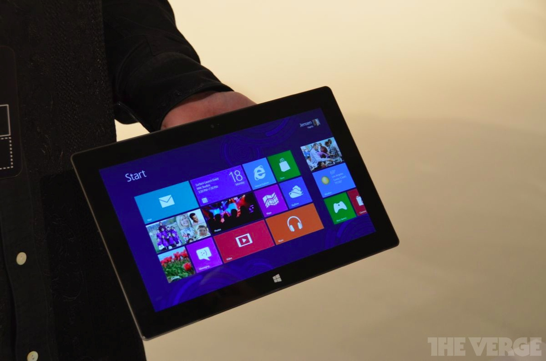 Gallery Photo: Microsoft Surface hands on photos