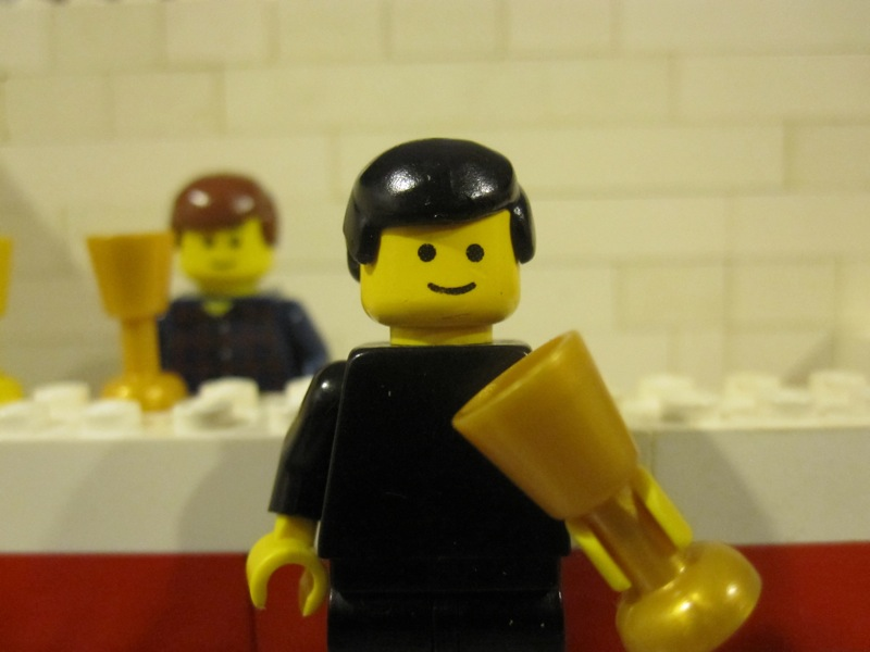 "Mike Shannon, ""Ol' (Lego) Irish"" himself."