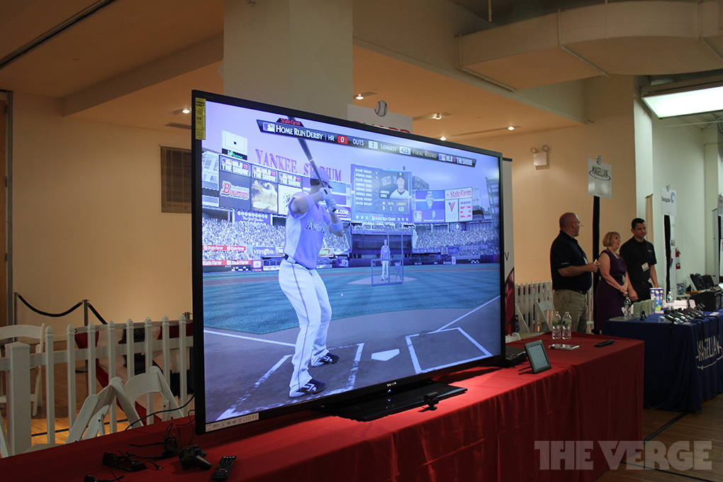 Gallery Photo: Sharp 90-inch smart TV