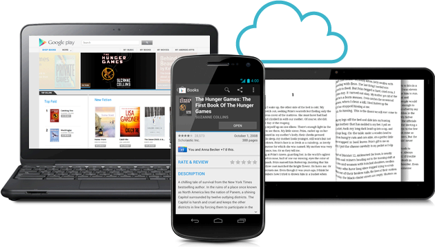 Google Books Devices