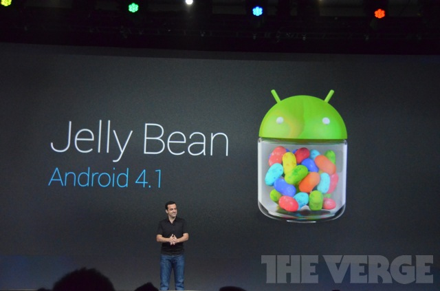 Gallery Photo: Android 4.1 Jelly Bean images