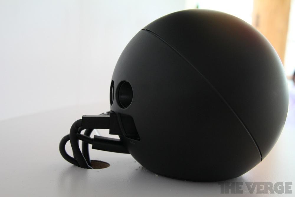 Gallery Photo: Google Nexus Q media streamer hands-on pictures