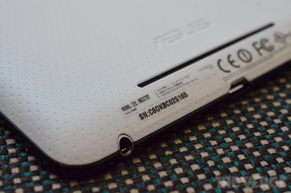 Nexus 7 model number