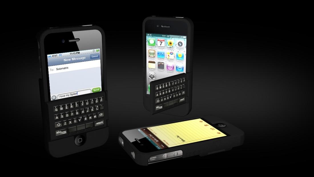 Spike iPhone keyboard models