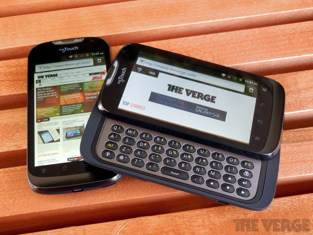 Gallery Photo: T-Mobile myTouch and myTouch Q hands-on