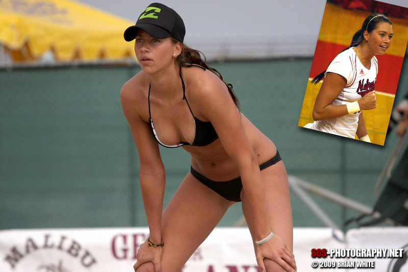 Tara Mueller Sand Volleyball