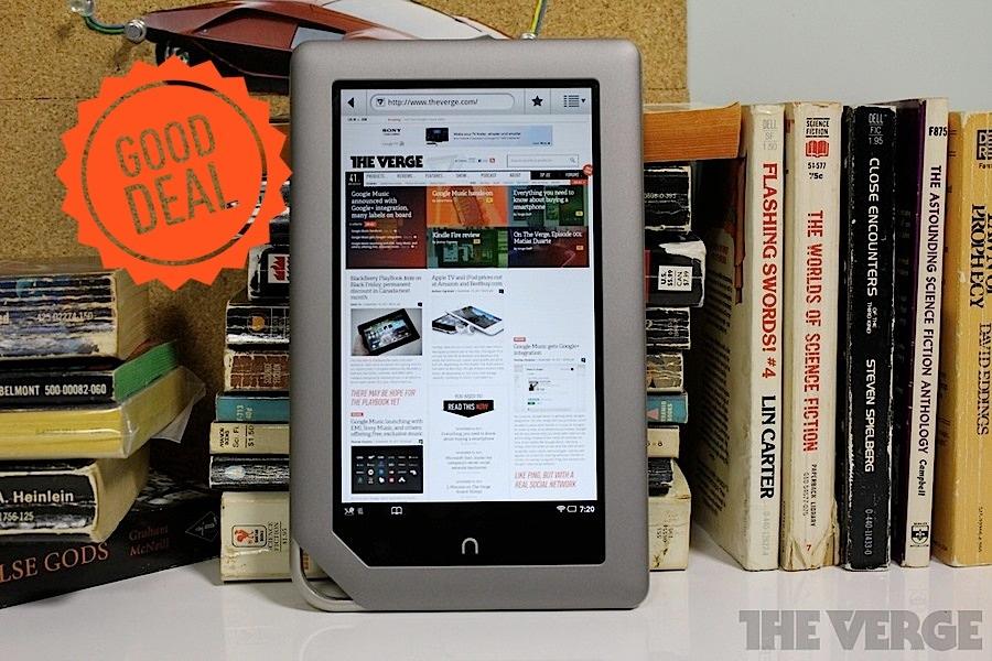 Nook Tablet | Barnes & Noble - The Verge