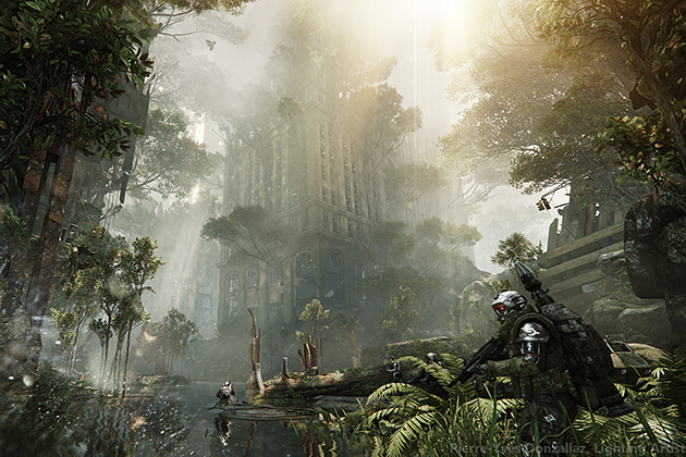 Crysis 3 jungle patrol