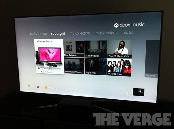 Xbox Music Beta