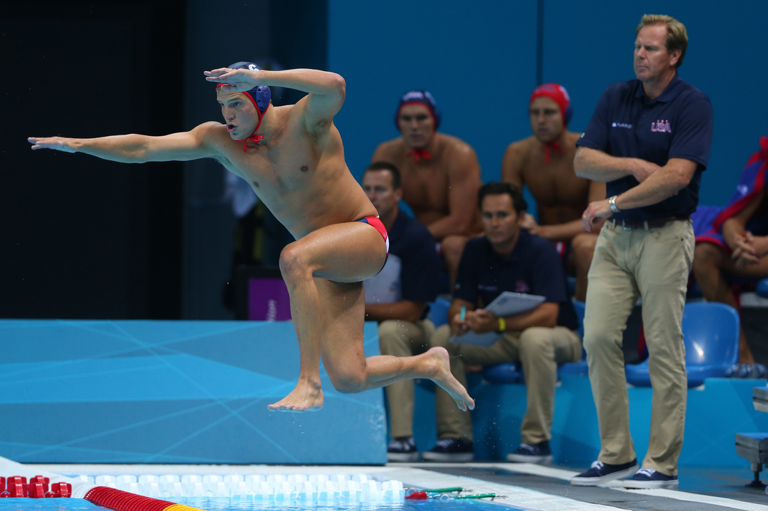 Flying water polo