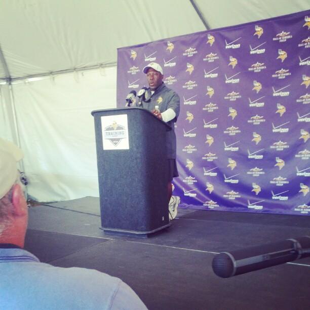 New Vikings Defensive Coordinator Alan Williams.