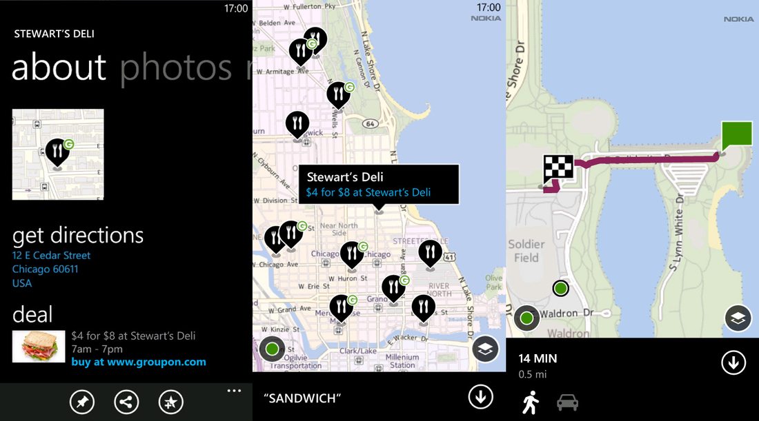 Nokia Maps 2.5