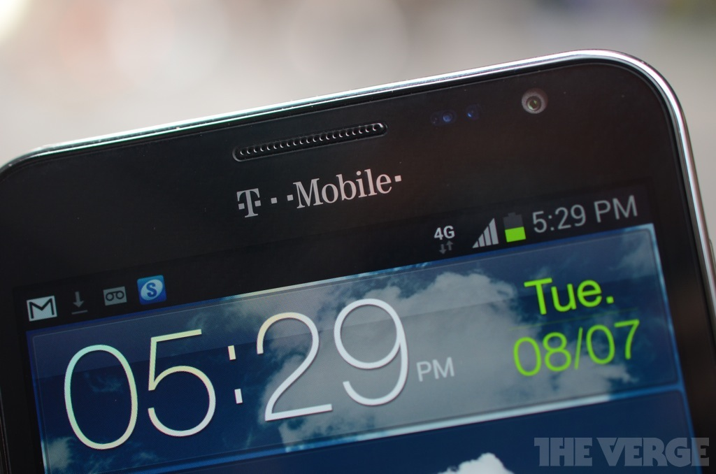 Gallery Photo: Samsung Galaxy Note for T-Mobile pictures