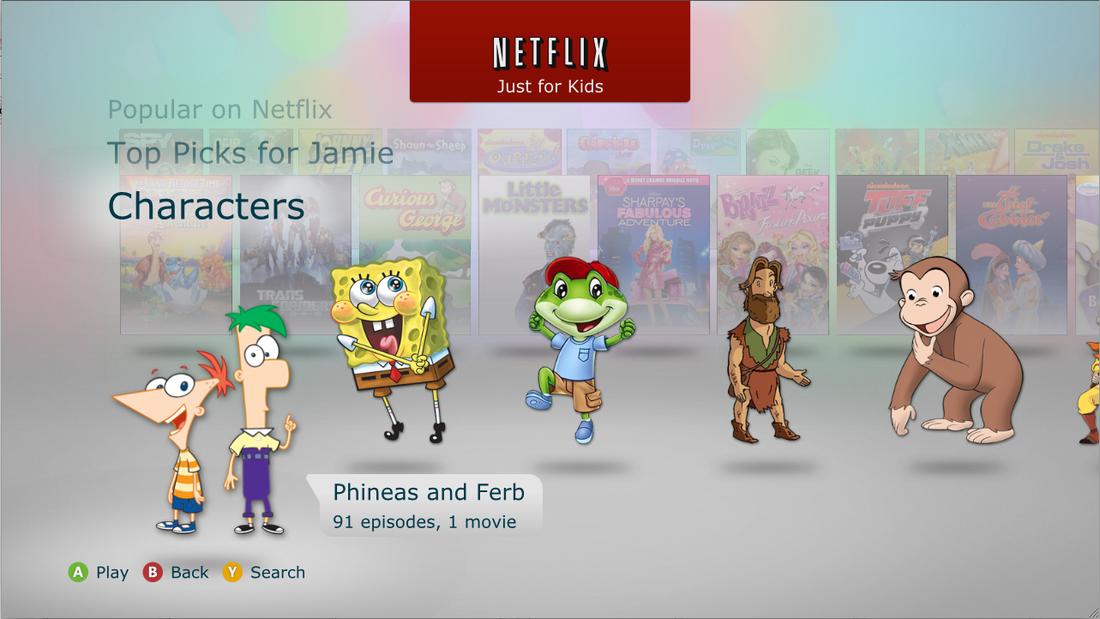 Netflix just for kids