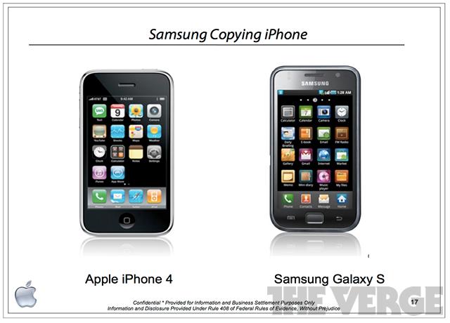 Samsung Copying Apple
