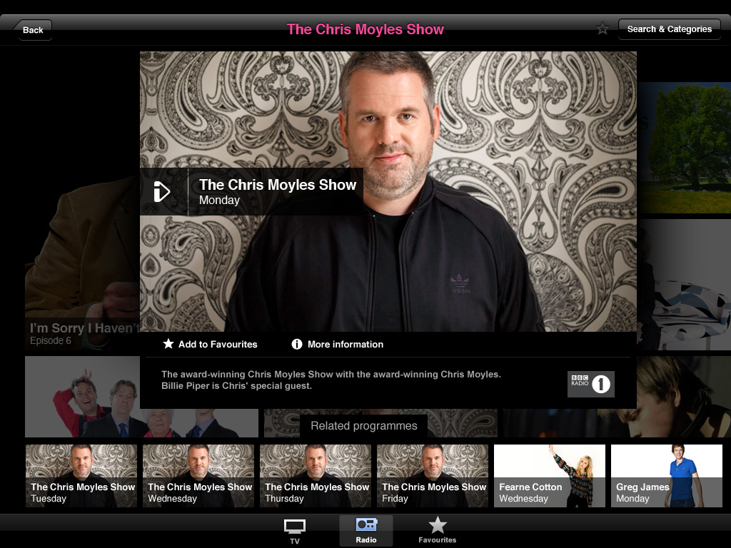 bbc iplayer update