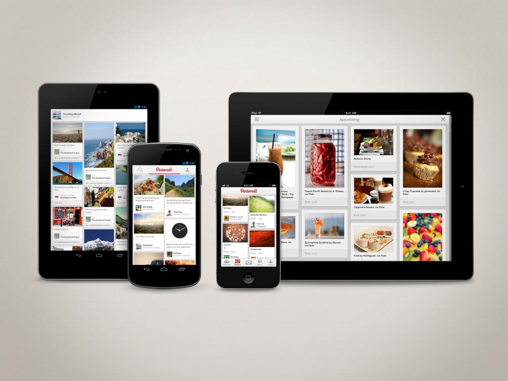pinterest ipad android app