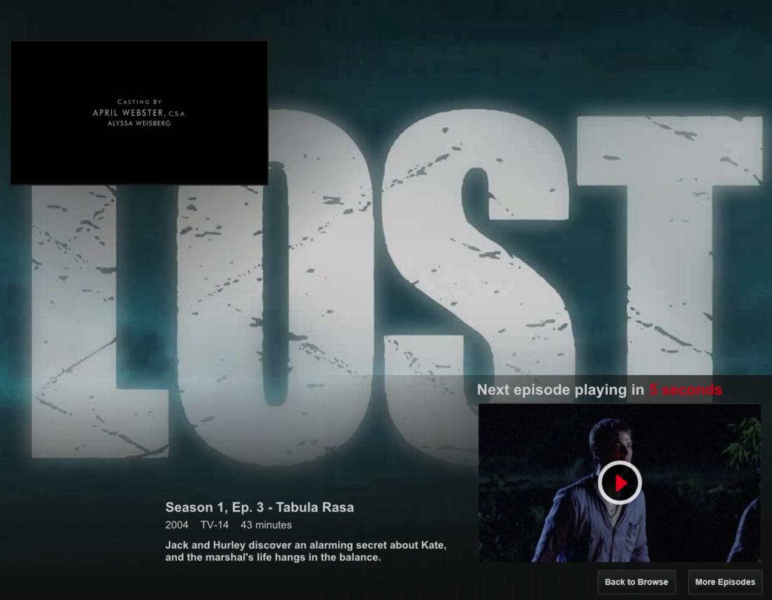 Netflix Post-play