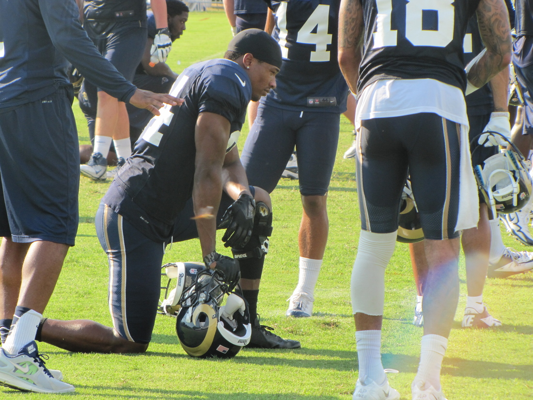 The St. Louis Rams' roster is down to 75 players after the team made a round of moves that included waiving Danario Alexander.