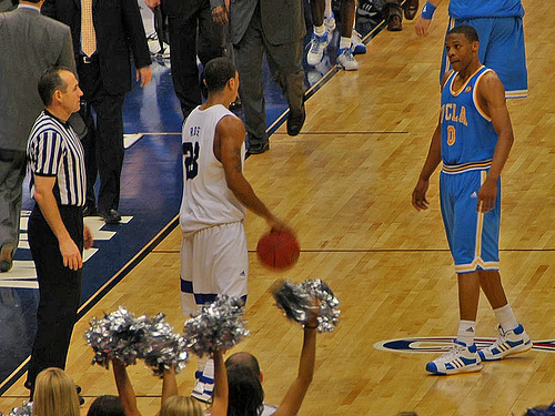 """Russell Westbrook at UCLA (Photo by <a href=""""http://www.flickr.com/photos/jdn/"""" target=""""new"""">Jack Newton</a>)"""