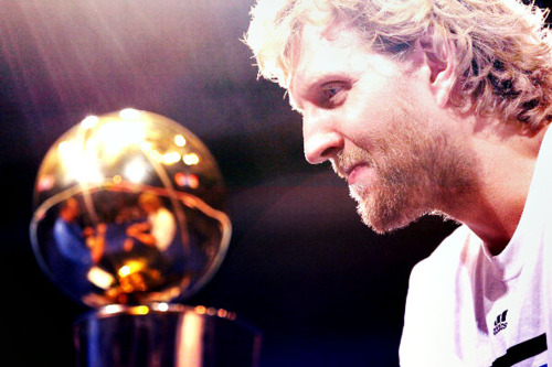 Dirk Nowitzki -- arguably the most famous fish ever.