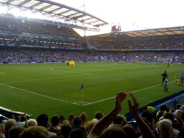 Kick off at Chelsea