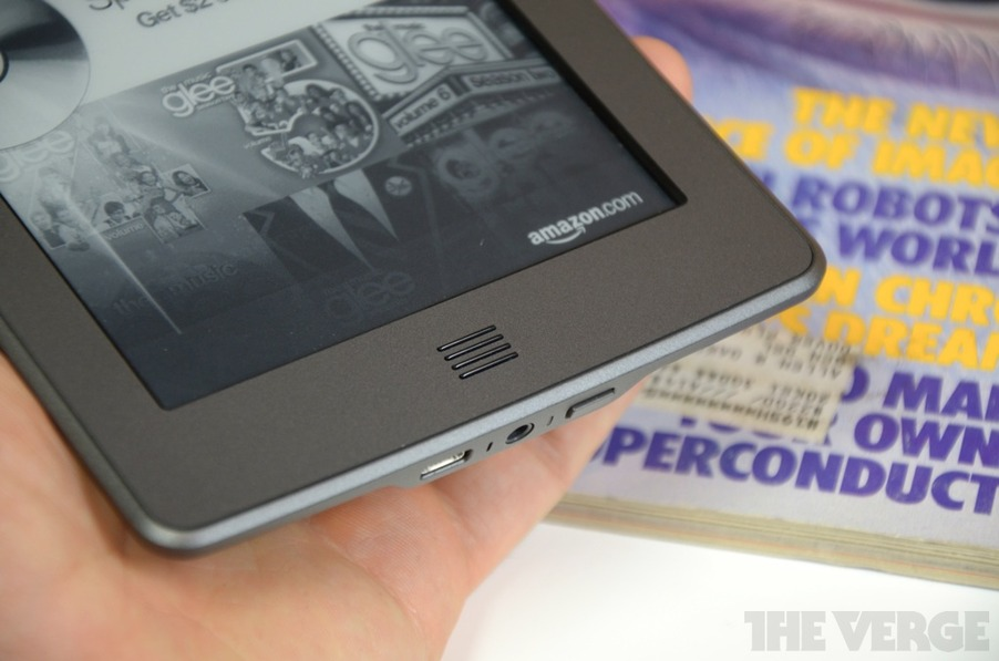 Kindle Keyboard | Amazon - The Verge