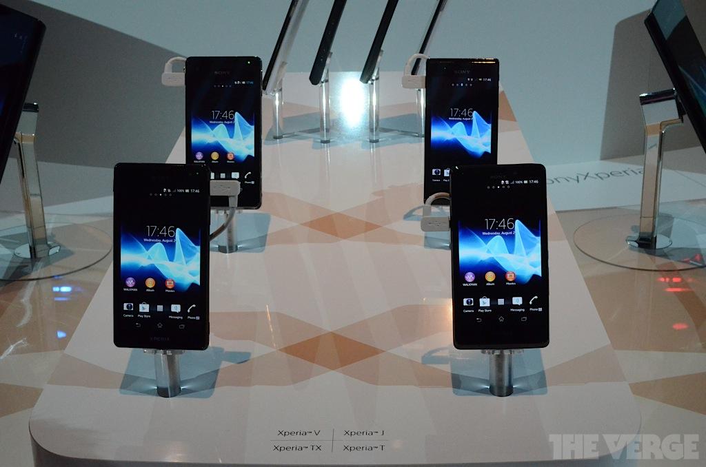 Xperia 2012 lineup 2