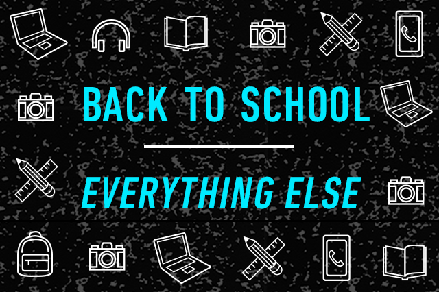 Back to School: Everything else