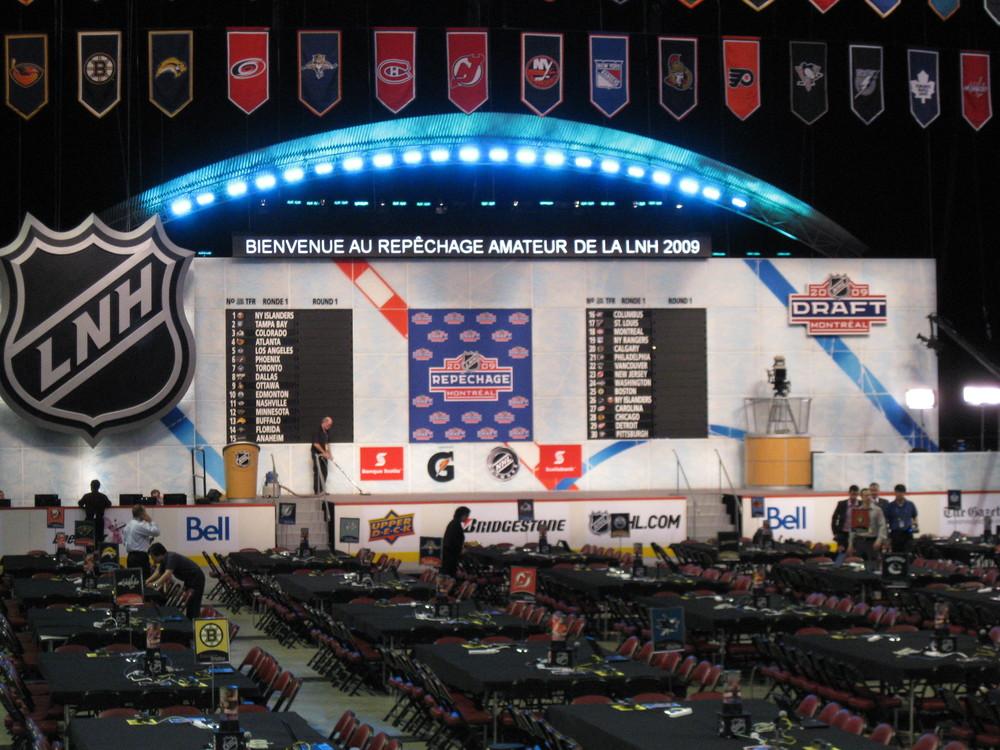 NHL Draft Stage