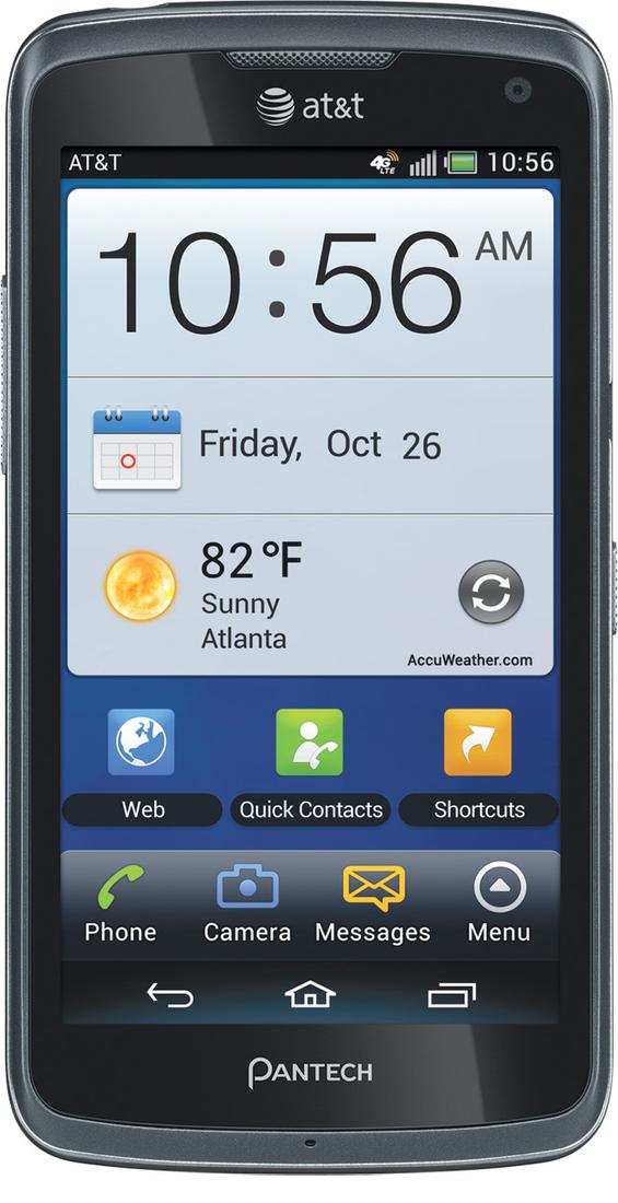Pantech Flex for AT&T press image