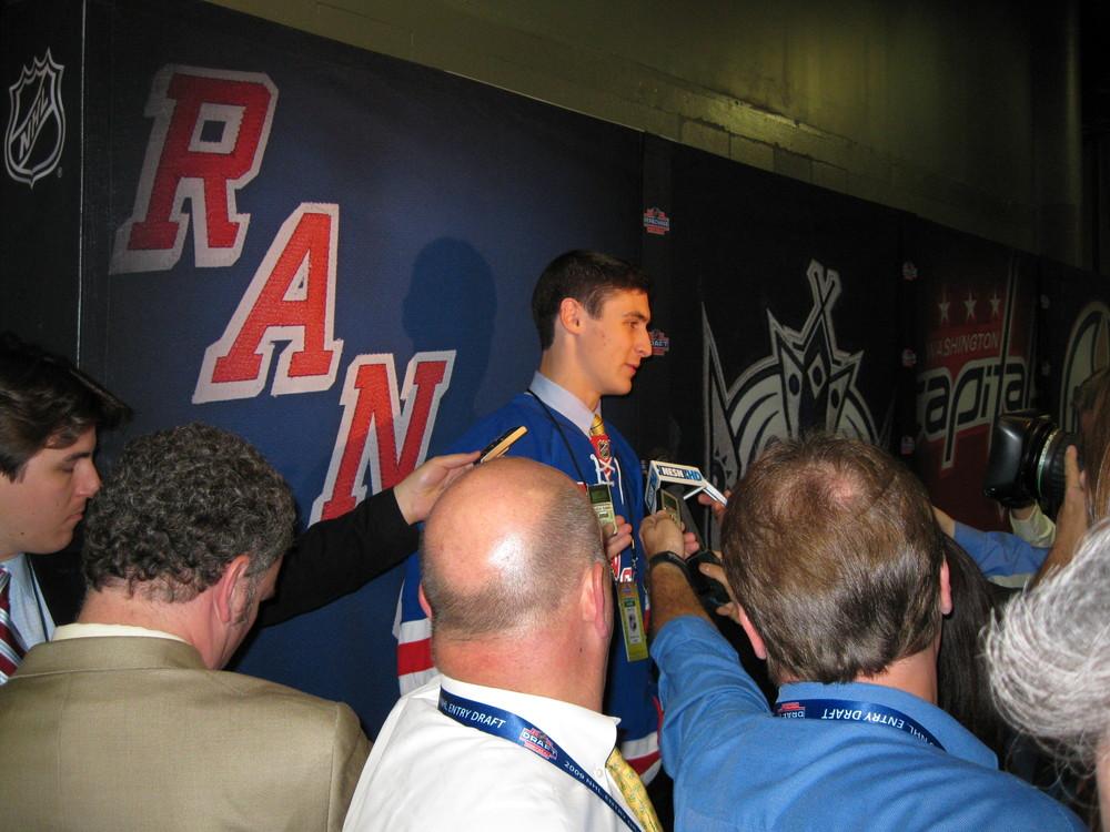 New York Rangers Draft Pick Chris Kreider
